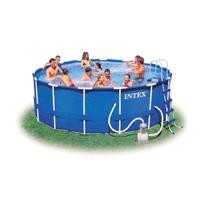 Фото 1 к товару Бассейн каркасный Intex 56946 (457x122 см) с фильтрующим насосом и аксессуарами