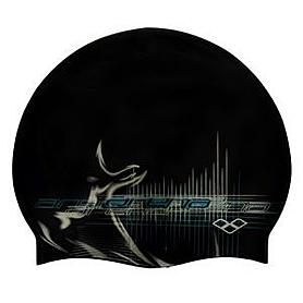 Фото 1 к товару Шапочка для плавания Arena Print Cap