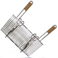 Фото 1 к товару Решетка для гриля одинарная 37 x 31 см с двумя ручками Campingaz