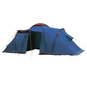 Палатка шестиместная кемпинговая Sol Castle 6