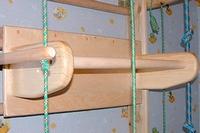 Фото 2 к товару Спортивный уголок 210 см с турничком (брусьями) и доской для пресса 694-449