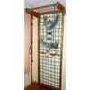 Гладиаторская сетка из бука 210 см с турником и веревочным комплектом - фото 1