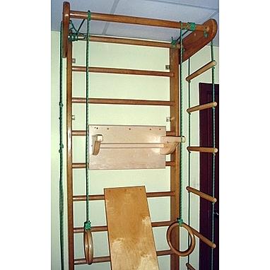 Спортивный уголок 240 см с брусьями (до 50 кг) и доской из бука