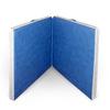 Мат гимнастический раскладной 100х100х10 и 100х100х10 см (светло-синий) - фото 1