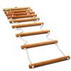 Лестница для шведской стенки веревочная взрослая Атлант - фото 1