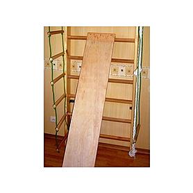 Фото 3 к товару Спортивный уголок 240 см с брусьями (до 100 кг) и доской из бука