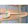Спортивный уголок 240 см с гимнастическим матом, навесным турничком, брусьями (до 50 кг) и доской 180 см - фото 2