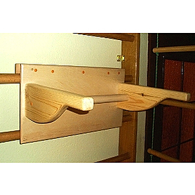 Фото 3 к товару Спортивный уголок 240 см с гимнастическим матом, навесным турничком, брусьями (до 50 кг) и доской 180 см