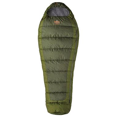 Мешок спальный (спальник) трёхсезонный Pinguin Trekking L PNG 2115 левый зеленый