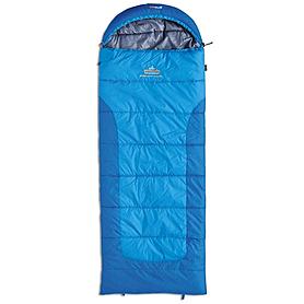 Мешок спальный (спальник) зимний Pinguin Blizzard Junior левый синий