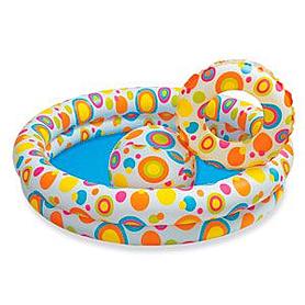 """Набор детский надувной """"Шарики"""" 59460 Intex с надувным кругом и мячом"""