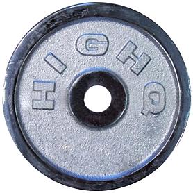 Диск хромированный 2,5 кг - 31 мм