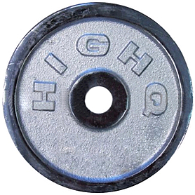 Распродажа*! Диск хромированный 10 кг - 31 мм