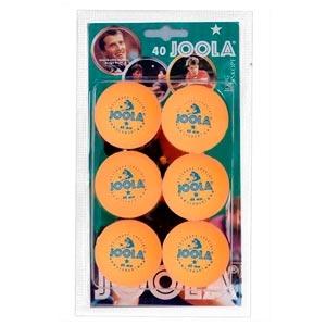Набор мячей для настольного тенниса Joola Rossi желтые *