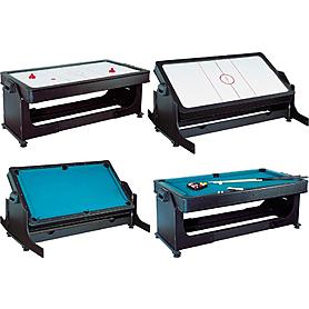 Фото 1 к товару Игровой стол-трансформер Twister (пул + аэрохоккей)