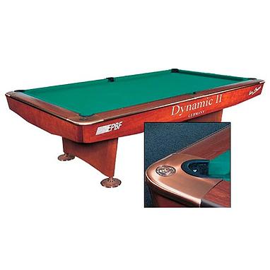 Стол бильярдный Dynamic II 9 футов коричневый + комплект для игры