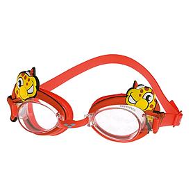 Очки для плавания детские Arena Bubble World красные (рыбка)