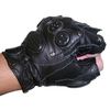 Перчатки для фитнеса без пальцев (кожа) - фото 2