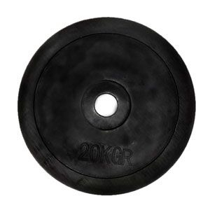 Диск обрезиненный 5 кг - 31 мм