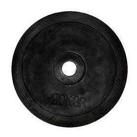 Фото 1 к товару Диск обрезиненный олимпийский 20 кг - 51 мм
