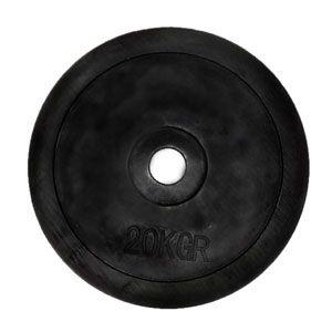 Диск обрезиненный олимпийский 20 кг - 51 мм