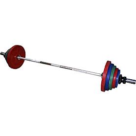 Фото 1 к товару Штанга наборная цветная 150 кг