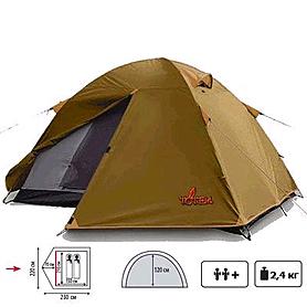 Посмотреть описание и купить Палатка двухместная Totem Teppe
