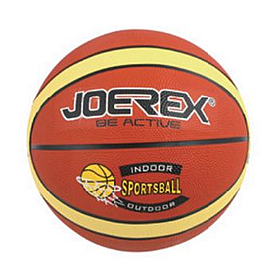 Мяч баскетбольный Joerex Sportsball (резина)