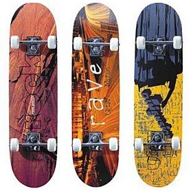 Фото 1 к товару Скейтборд дерево Joerex 5174