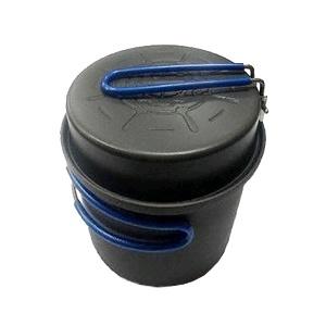 Кастрюля-кружка анодированная с крышкой-сковородкой Tramp 1 л