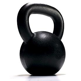 Гиря чугунная 24 кг York (черная)