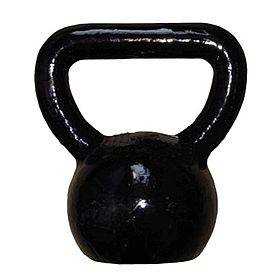 Гиря чугунная 4 кг York (черная)