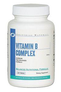 Витамины группы В Universal Nutrition Vitamin B Complex (100 таблеток)