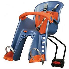 Фото 1 к товару Велокресло детское Polisport Bilby Junior синее