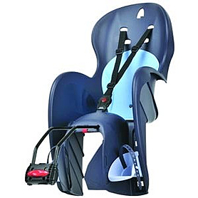 Фото 1 к товару Велокресло детское Polisport Wallaroo For Frame синее