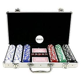 Набор для игры в покер, 300 фишек с номиналом