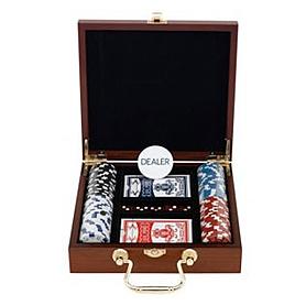 Набор для игры в покер, 100 фишек IG-6641