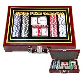 Фото 1 к товару Набор для игры в покер, 200 фишек G-2314
