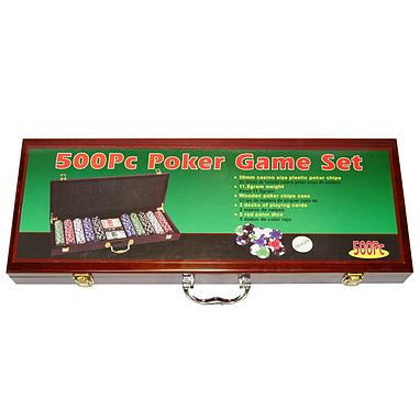 Набор для игры в покер, 500 фишек