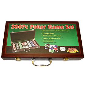 Фото 1 к товару Набор игровой для покера, 300 фишек - уцененный*