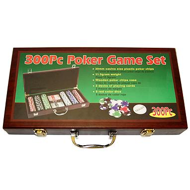Набор игровой для покера, 300 фишек - уцененный*