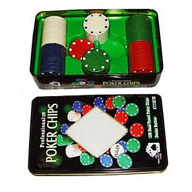 Фишки для покера 100 шт G-1102110
