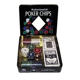 Набор для игры в покер 100 фишек с номиналом G-2033