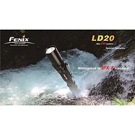 Фото 5 к товару Фонарь ручной Fenix LD20 Cree XP-G LED R5