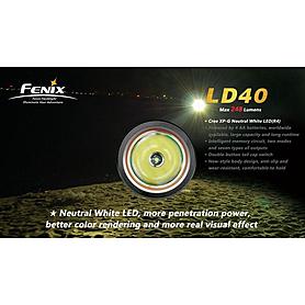 Фото 2 к товару Фонарь ручной Fenix LD40 Cree XP-G LED R4
