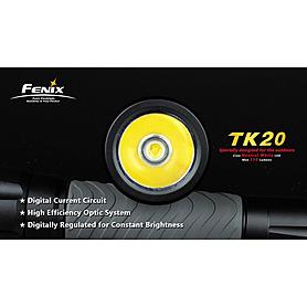 Фото 3 к товару Фонарь тактический Fenix ТК20 Cree XR-E LED Q3