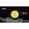 Фонарь тактический Fenix ТК20 Cree XR-E LED Q3 - фото 3