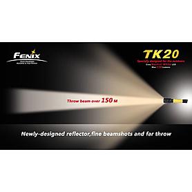 Фото 5 к товару Фонарь тактический Fenix ТК20 Cree XR-E LED Q3