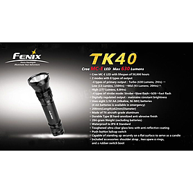 Фото 2 к товару Фонарь тактический Fenix TK40 Cree MC-E LED