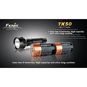Фото 2 к товару Фонарь тактический Fenix TK50 Cree 3 x XP-G R5 LED